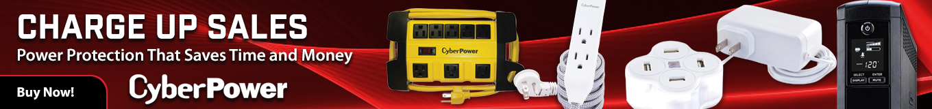 CyberPower power management and surge